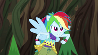 Rainbow Dash about to spring into action EG4