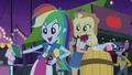 Rainbow Dash and Applejack at the carnival EG2.png