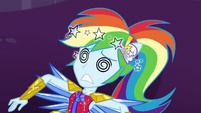 Rainbow Dash dizzy on the ground EGDS11
