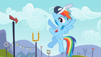 Rainbow Dash don't leave hanging S2E7