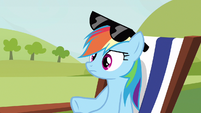 Rainbow Dash exactly how S3E3