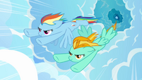 Rainbow Dash racing S3E07