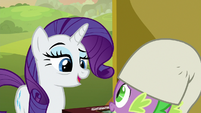 "Rarity ""I know how much you enjoy it"" S9E19"