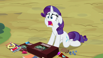 "Rarity ""it's the evidence against me!"" S9E19"
