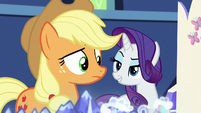 "Rarity ""more like THREE times!"" S5E16"
