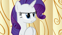 "Rarity ""now that we've solved"" S6E10"