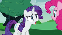 Rarity -all my good intentions squashed!- S7E9