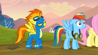 Spitfire talking to Dash S2E22