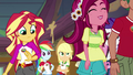 Sunset Shimmer looks where Gloriosa touched her EG4.png