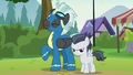 Thunderlane and Rumble arrive at day camp S7E21.png