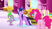 Twilight -that's an awfully big coincidence- S5E13