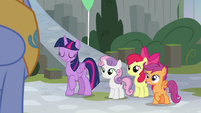 Twilight and Crusaders meet Sky Beak S8E6