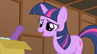 Twilight listens to the report S1E18