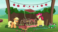 "Applejack ""now I've gotta start all over"" S6E14"