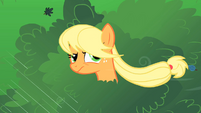 Applejack annoyed at Rarity S1E08