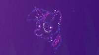 Constellation of Twilight Sparkle's face S7E14