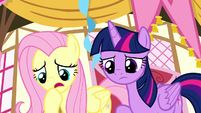 "Fluttershy ""if he was talking"" S8E18"