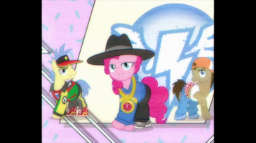 Pinkie Pie ends rap song S4E21