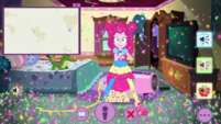Pinkie sees explosion in Rarity's video call EGDS46