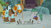 "Professor Fossil ""thank you, Rockhoof"" S8E21"
