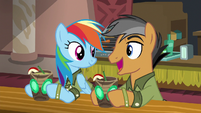 """Quibble Pants """"I know what you mean"""" S6E13"""