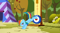 Rainbow Dash kicking S1E13