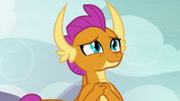Smolder thinking about her brother S9E9