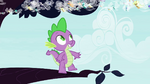 Spike watches Breezies from a tree S4E16