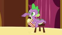 Spike with popcorn S3E03