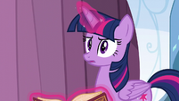 Twilight Sparkle thinking S6E2