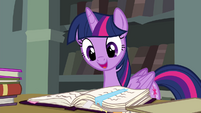 Twilight reminds Rainbow Dash of Rainbow Falls S4E25