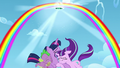 A Rainbow arc is formed; a portal opens S5E26.png