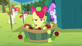 Apple Bloom spits out an apple S5E17.png
