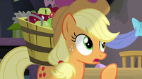 "Applejack ""they're the greatest thing since"" S7E23"