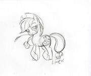 Applejack Sketch