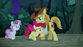 Braeburn holding Apple Bloom back S5E6.png