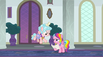 Cozy Glow greeting Rainbow Harmony S8E25