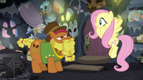 Fluttershy excited to meet Cattail S7E20