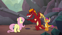 "Garble ""if the other dragons ever found out"" S9E9"