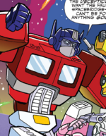 MLP Transformers issue 1 Optimus Prime