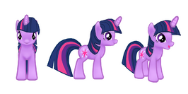 My little pony mobile game Twilight Sparkle Model