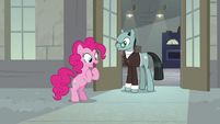 "Pinkie Pie ""he needs to make us laugh!"" S9E14"