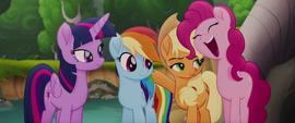 Pinkie Pie ecstatic -indeedy!- MLPTM