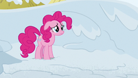 Pinkie Pie looking heartbroken S7E11