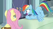 "Rainbow Dash ""is Dr. Caballeron!"" S9E21"