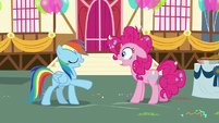 "Rainbow Dash ""never mind"" S7E23"