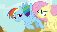 Rainbow Dash --you've been kind of quiet-- S6E11