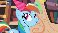 Rainbow Dash -oh right- S4E04
