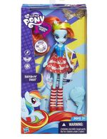 Rainbow Dash Equestria Girls standard doll package