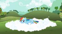 Rainbow Dash tail whip S3E3